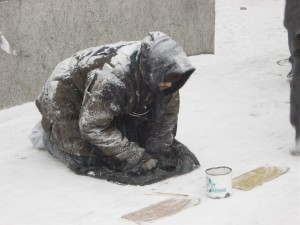 A Begging Man