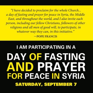 Fasting For Syria